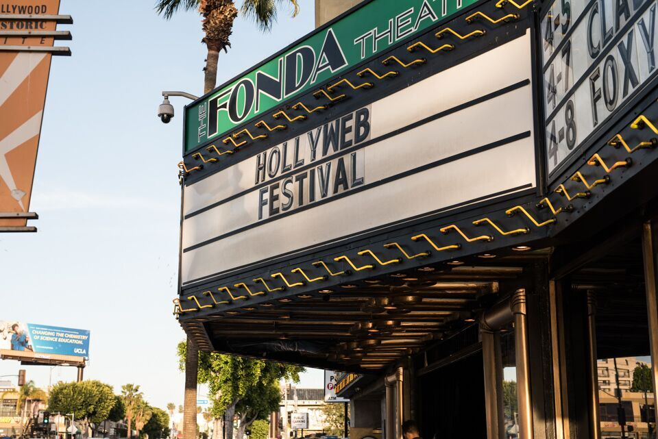 The HollyWeb Festival Awards ceremony took place at the historic Fonda Theater.
