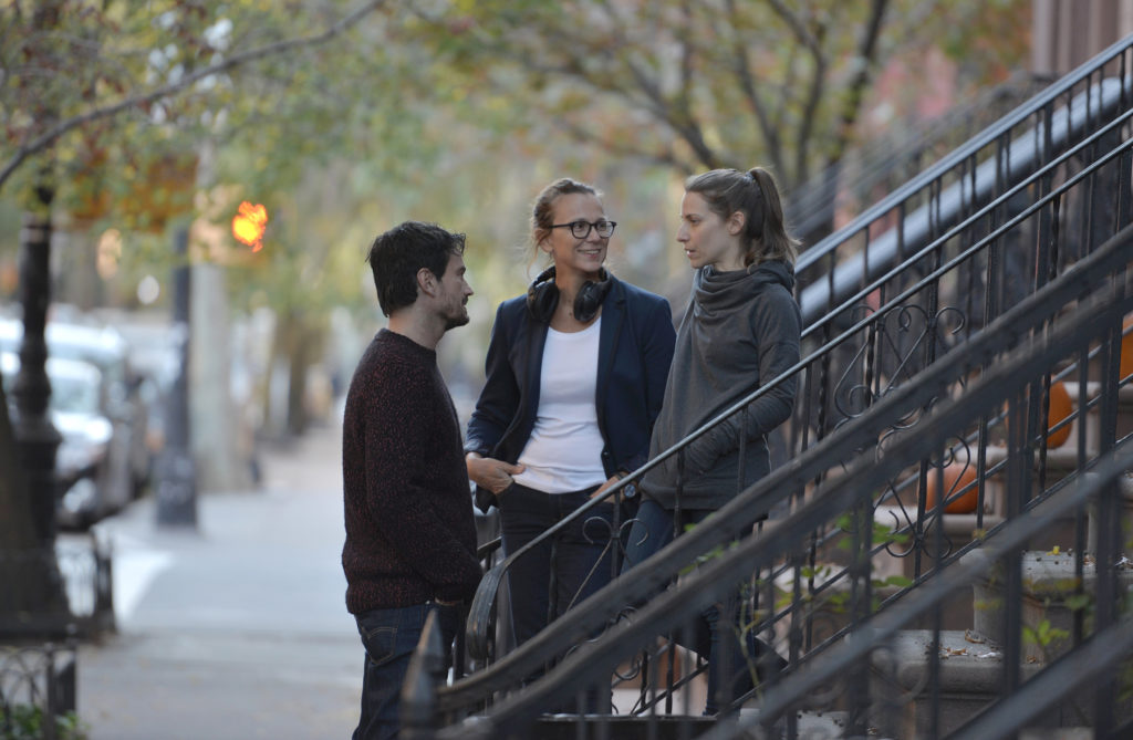 Julia Solomonoff working with Guillermo and Elena