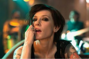 Also Cate Blanchett in MANIFESTO.