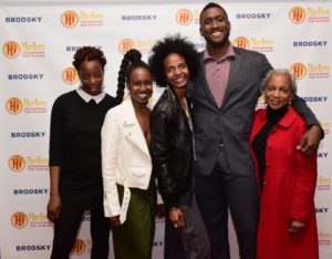 Namakula Naseje Musoke (PROD), Ayo Jeneen Jackson (CAST), Sewra Kidane (DIR/ED), Michael Cooke (DP), and Yvonne Durant (SCR) of PROCLAMATION PUNCTUATION (Photo by Quack Nation)