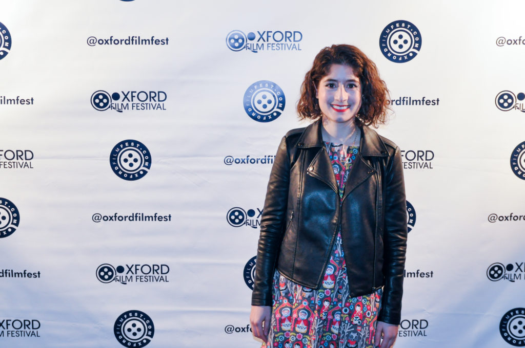 Victoria Negri (GOLD STAR) at this year's Oxford Film Festival (Photo by Bill Dabney)
