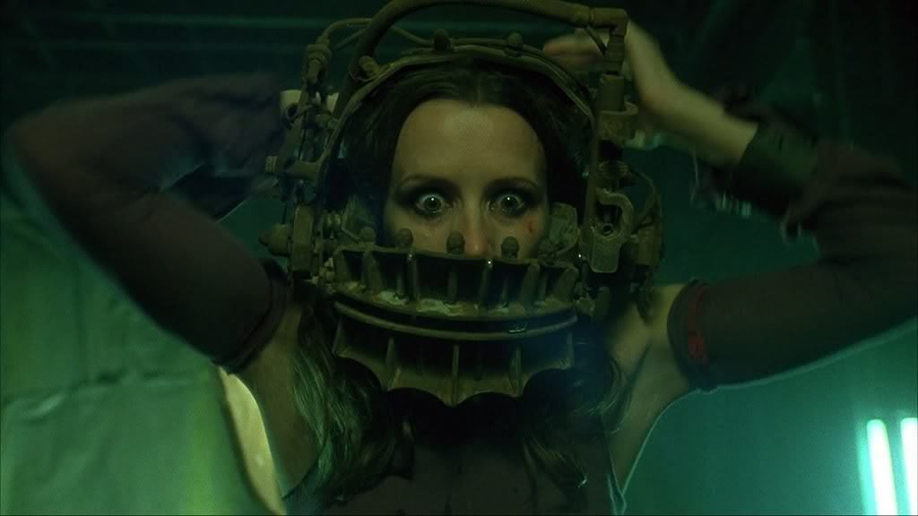 Seriously. Would a date with me have been as bad as all that? (SAW II)