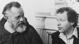 Henry Jaglom with Orson Welles