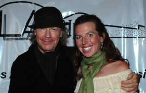 Henry Jaglom with Tanna Frederick