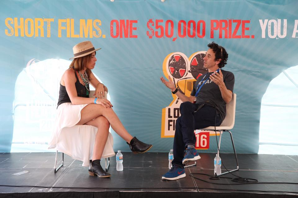 Gregory Kallenberg talks film with filmmaker/actor Jenny Griffin Hogan