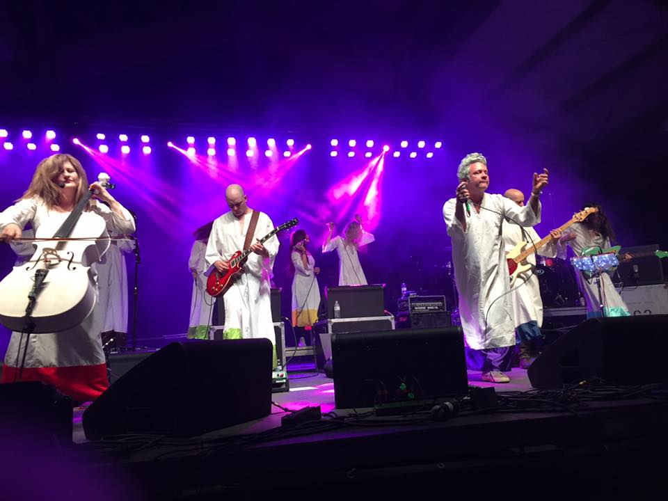 The Polyphonic Spree performing during the 2016 festivities in Shreveport
