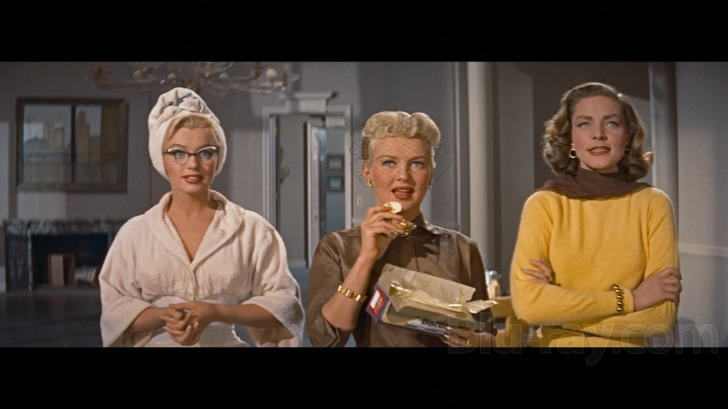 Monroe, Grable, Bacall... (HOW TO MARRY A MILLIONAIRE)
