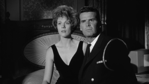 A fine romance: Julie Andrews and James Garner (THE AMERICANIZATION OF EMILY)