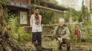 Glenn Close eats up her role in the zombie film THE GIRL WITH ALL THE GIFTS