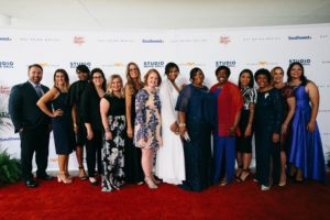 Studio Movie Grill's Real Life Heroes on the red carpet