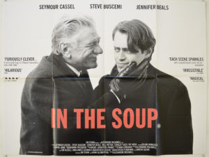 Original Cinema Quad Poster of IN THE SOUP