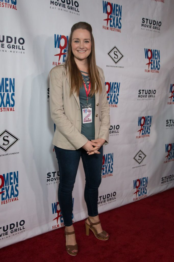 Allison Unger, the director/screenwriter/producer of IF YOU ONLY KNEW (Photo by John Strange)