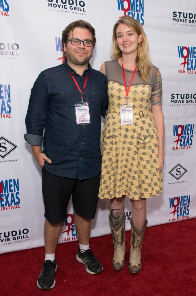 POSSIBILITY's Michael Larson (PROD) and Siena Pinney 8.19.17 (Photo by Steve Duffy)