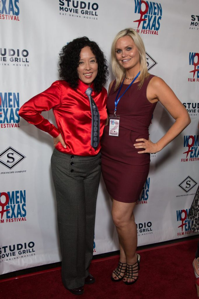 WTxFF's leaders: Founder/Artistic Director Justina Walford and Executive Director Vanessa Cook (Photo by John Strange)