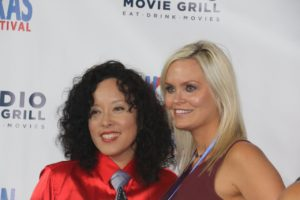WTxFF's Founder/Artistic Director Justina Walford and Executive Director Vanessa Cook (Photo by Sandra Kent)