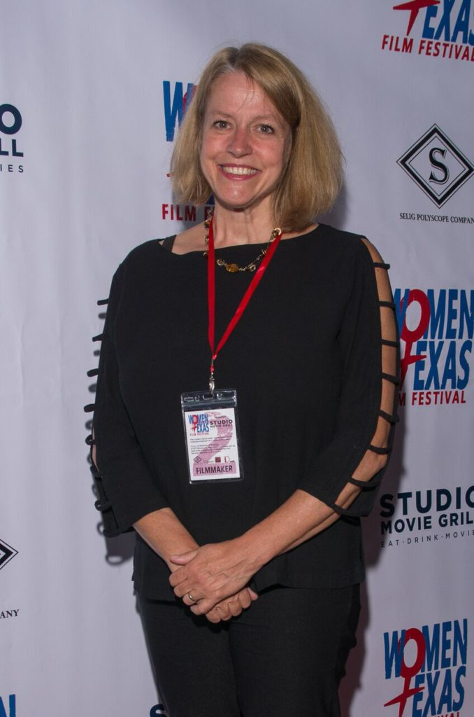IT'S CRIMINAL: A TALE OF TWO AMERICAS's director, Signe Taylor (Photo by Steve Duffy)