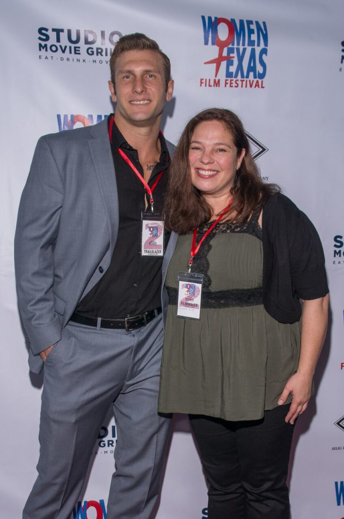 The ALTERNATIVE SCENARIO duo, Thomas Gibson and Jennifer Ford (Photo by Steve Duffy)