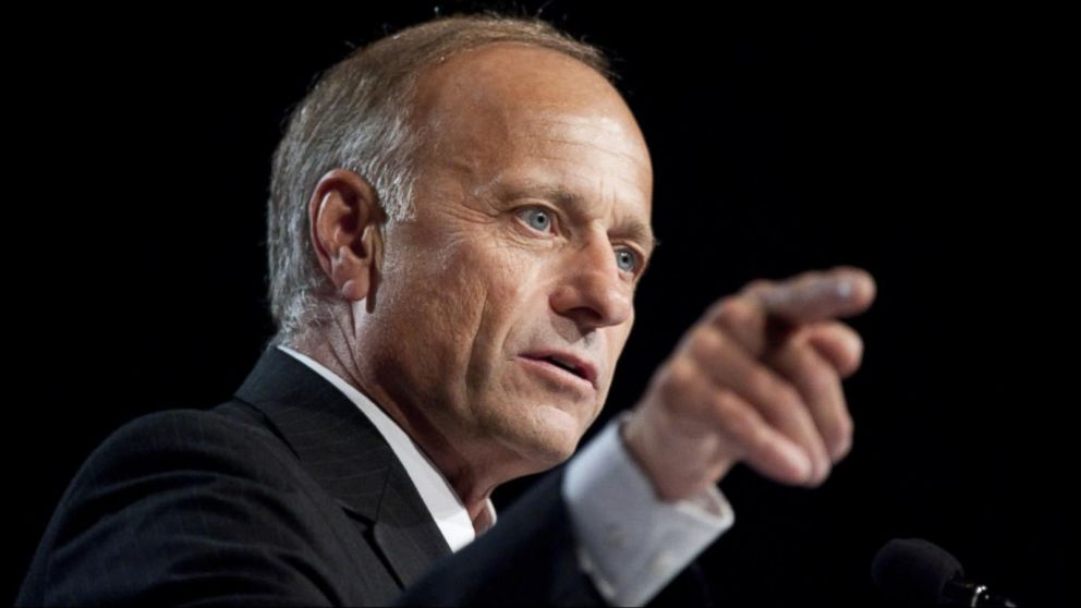 Unapologetically racist Iowa Congressman Steve King