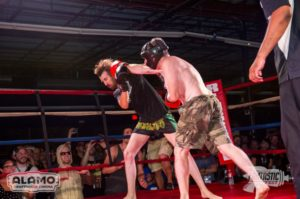Boxing match from Fantastic Fest 2014, Photo: Alamo Drafthouse, September 21, 2014