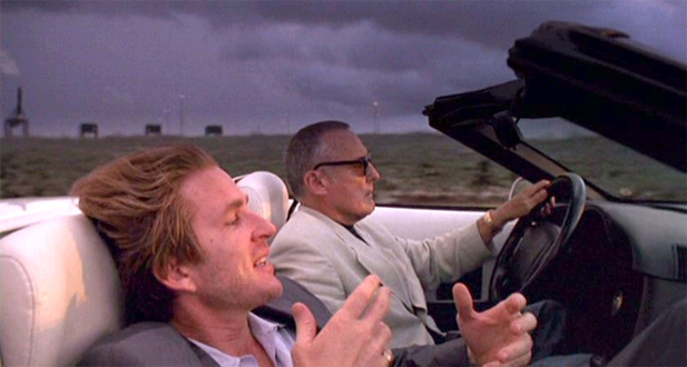 Matthew Modine and Dennis Hopper in THE BLACKOUT