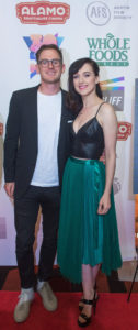 Jonathan Stein with BECKS star Lena Hall (Photo by Erika Rich)