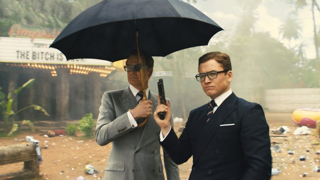 When is an umbrella not just an umbrella? When it's in a KINSMAN movie.