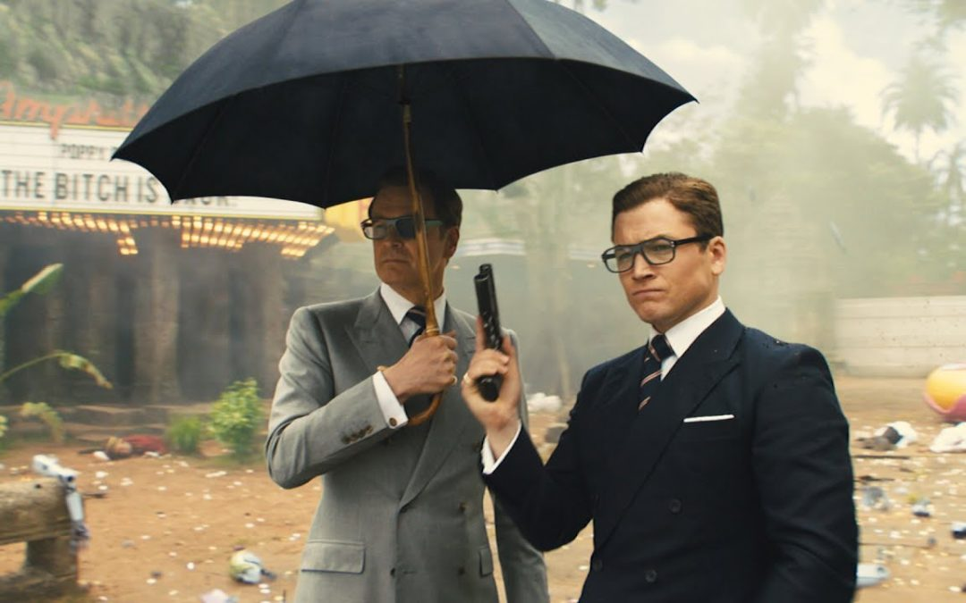 THEATRICAL REVIEWS: Matthew Vaughn's KINGSMAN: THE GOLDEN CIRCLE delivers all the things you expect from the genre: good guys, bad guys, car chases, fancy electronics, an evil plot to overcome, a hero trying to save a Princess, and a feisty Elton John.