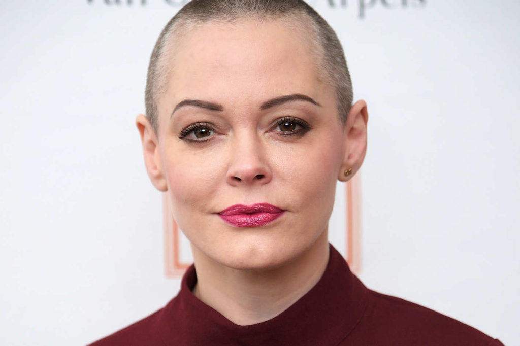 Rose McGowan is watching you. Because as a group we've proven we need watching.