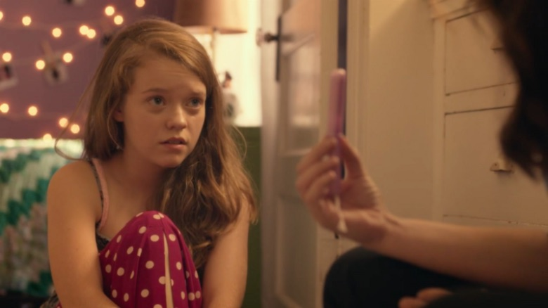 VOD REVIEWS: Dorie Barton's GIRL FLU. is a gem of a young girl's coming-of-age story centered around the crisis of her first period and a mom that needs more adult guidance than she does