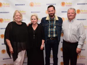 2017 Best Documentary feature winner Daniel Peddle (GARDEN OF THE PEACEFUL DRAGON) with his family on Opening Night (L to R: Diana Aaron, Betty, Daniel, and Larry Peddle (Photo by Quack Nation)