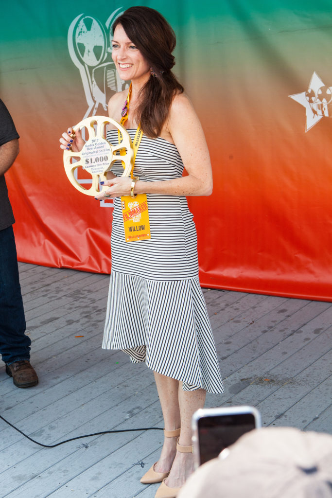 Kodak Golden Reel Award Winner Suzanne Racz (WILLOW) (Photo by Jim Noetzel)