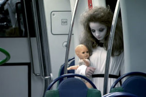 This should be the only thing allowed to scare you on a subway car.