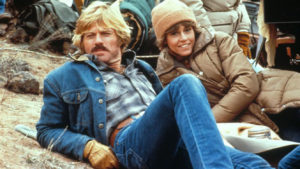 Redford and Fonda, together again, in THE ELECTRIC HORSEMAN.