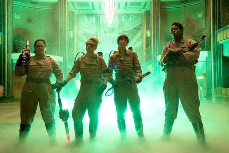 These women needed Paul Feig as an ally just to put on Ghostbuster uniforms.