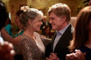A classic on-screen couple: Redford and Fonda, in OUR SOULS AT NIGHT.