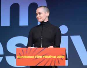 Rose McGowan, during a Sundance Film Festival experience she deserved to have - recognized for her directing talent, as opposed to the one forced upon her years earlier.