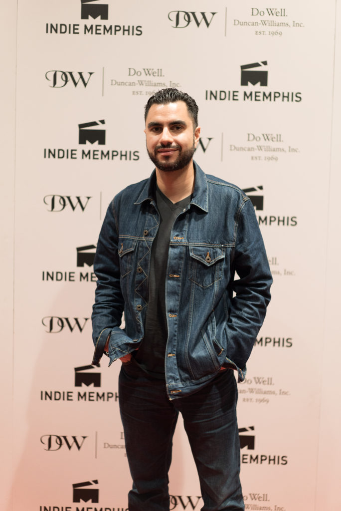 Adam Bhala Lough, director of WEAPONS (Photo by Stephen Hildreth)