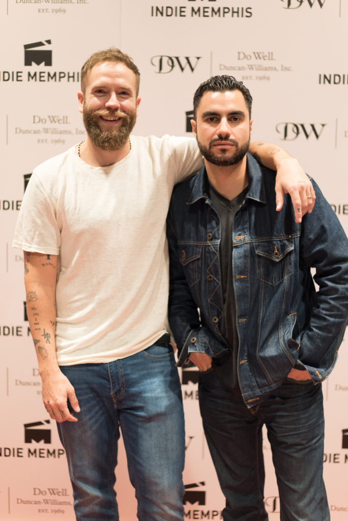 10 years later... Mark Webber, and Adam Bhala Lough reunite to screen their film, WEAPONS (Photo by Stephen Hildreth)