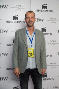 From Memphis Film Prize to Indie Memphis... Director Matteo Servente (WE GO ON) (Photo by Stephen Hildreth)