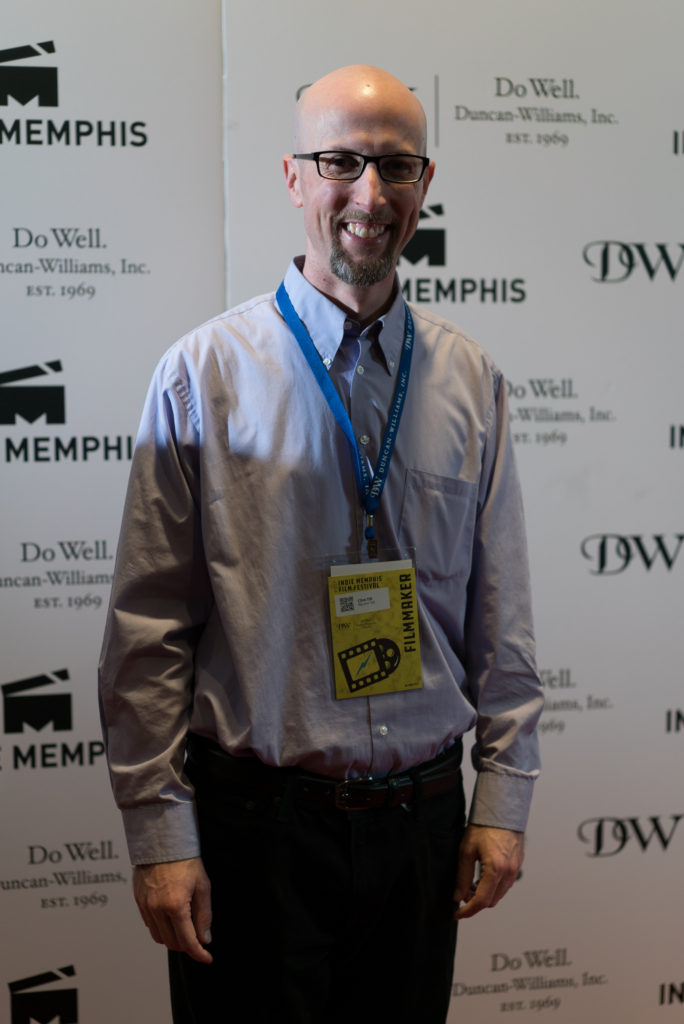 BIG AND TALL's director/screenwriter Clint Till (Photo by Stephen Hildreth)