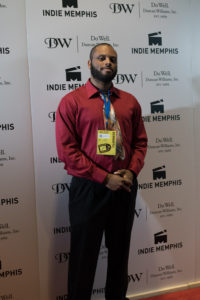 Jabriel Woodall, director, producer, Creator, and Artist of BWAKHAA! (Photo by Stephen Hildreth)