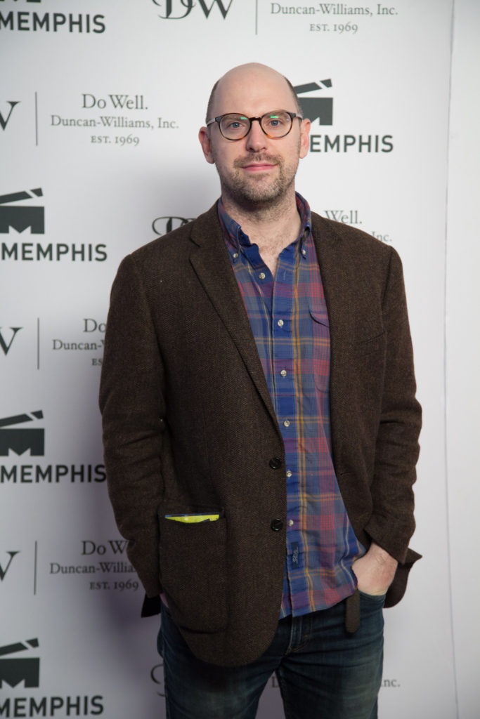 Russ Harbaugh, director of LOVE AFTER LOVE (Photo by Stephen Hildreth)