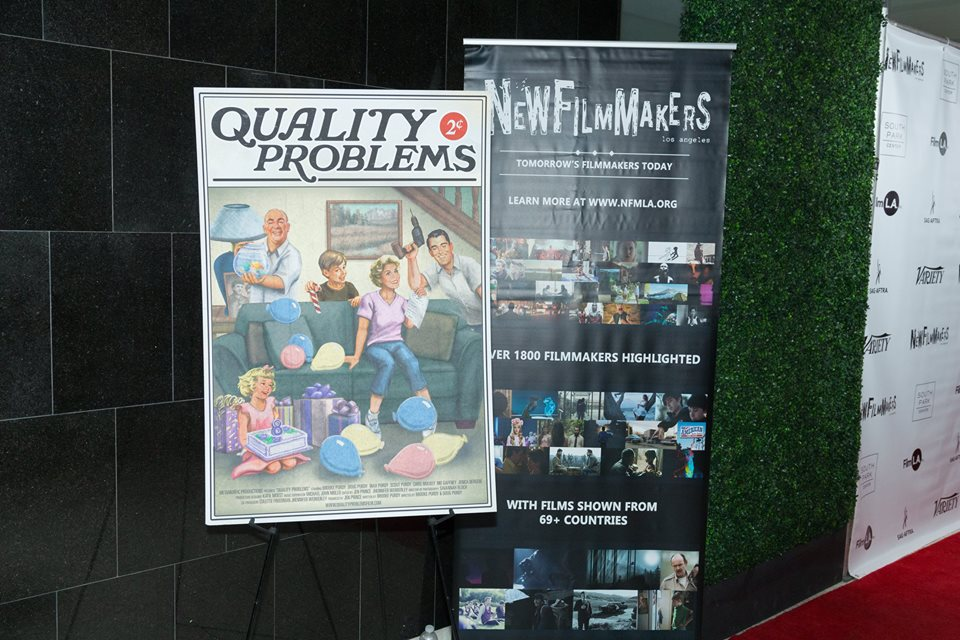 NewFilmmakers LA Premiere of QUALITY PROBLEMS 12.16.17 (Photo by Spencer Mathesen)