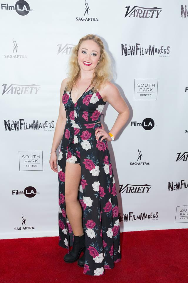 """Devon Hadsell, taking a break from doing """"Mean Girls"""" on Broadway to join the cast in L.A. (Photo by Spencer Mathesen)"""