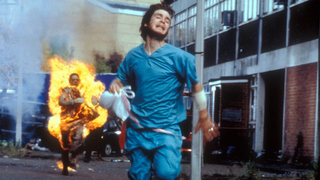 """This would be me trying to get out of being the """"wait line guy"""". (28 DAYS LATER)"""
