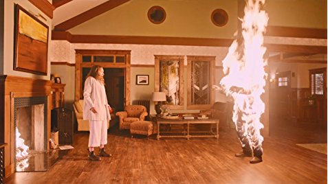 You try to have a calm discussion to deal with your family's demons, and someone just has to catch on fire. (HEREDITARY)