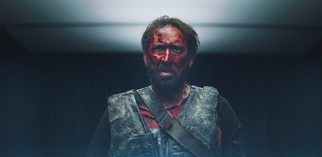 """The man, the legend, and a character in full on """"Cage Rage."""" (MANDY)"""