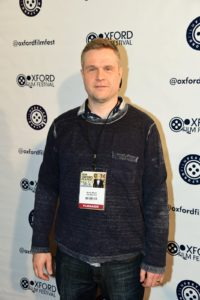 Henrik A. Meyer, director of THE BLUE CAR. (Photo by Joey Brent)