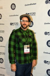 """Justin Possenti, director of """"Spinning"""" (Photo by Joey Brent)"""