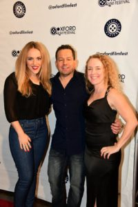 The creative trio responsible for HEARTLESS: Stacy Snyder (CAST), Kevin Sluder (DIR), and Jennifer Sluder (PROD) (Photo by Joey Brent)